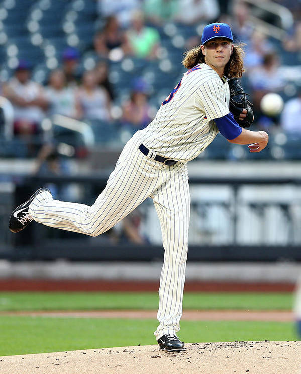 Jacob Degrom Art Print featuring the photograph Jacob Degrom by Elsa