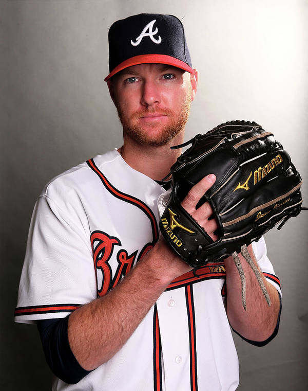 Media Day Art Print featuring the photograph Jonny Venters by Elsa