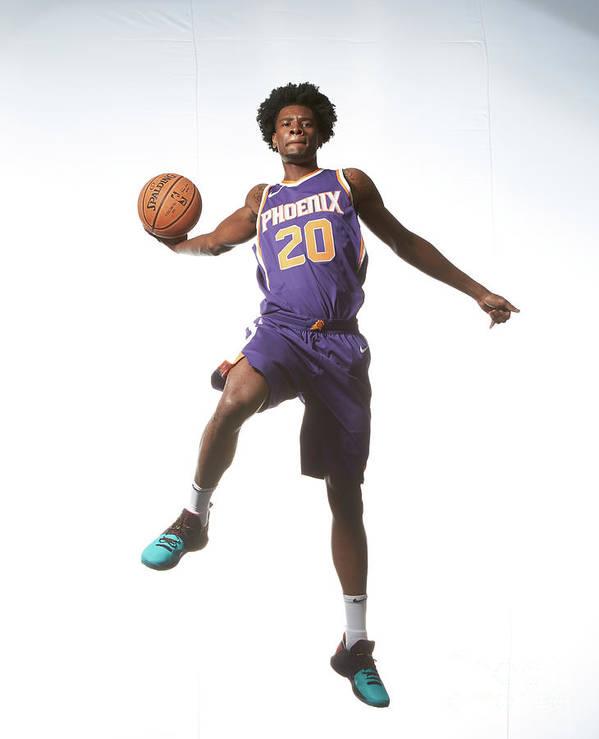 Nba Pro Basketball Art Print featuring the photograph Josh Jackson by Nathaniel S. Butler