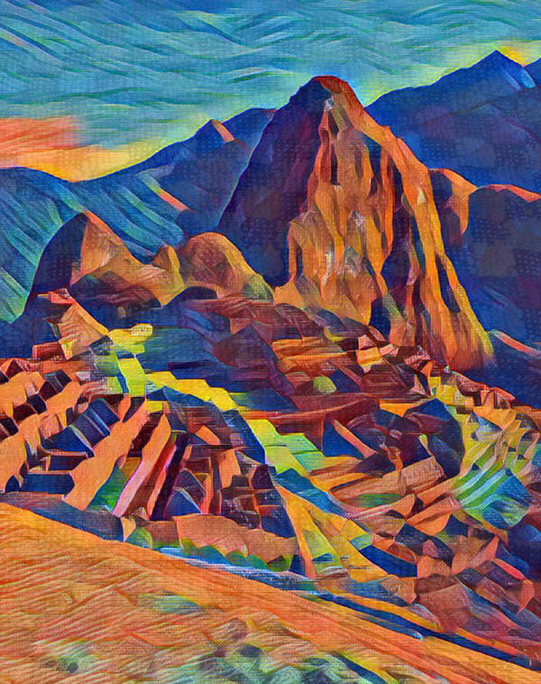 Machu Pichu by Cano Ita