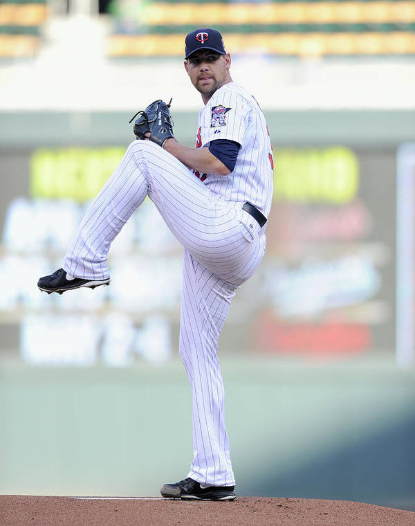 Game Two Art Print featuring the photograph Mike Pelfrey by Hannah Foslien