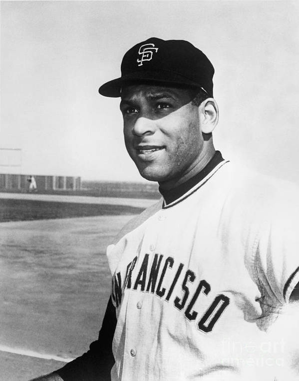 1950-1959 Art Print featuring the photograph Orlando Cepeda by National Baseball Hall Of Fame Library