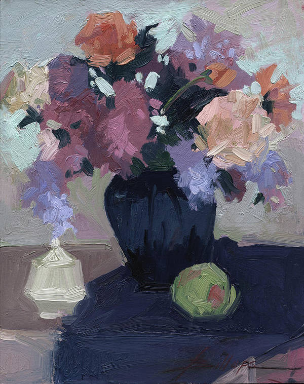 Still Life Art Print featuring the painting Study in Daylight by Betty Jean Billups