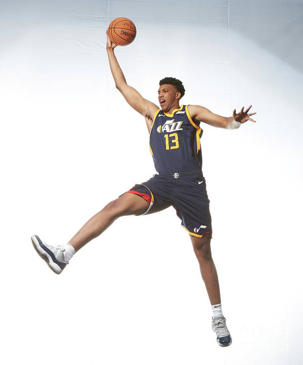 Nba Pro Basketball Art Print featuring the photograph Tony Bradley by Nathaniel S. Butler