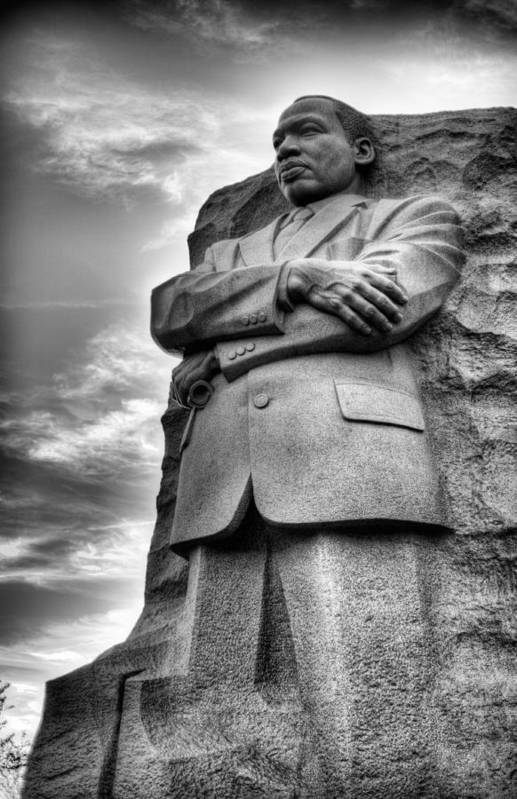 Martin Luther King Jr Memorial Print featuring the photograph I Have A Dream by JC Findley