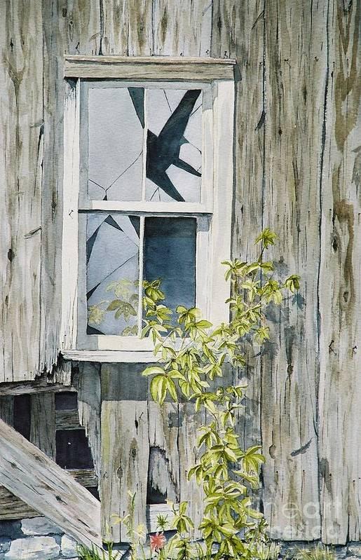 Barn Art Print featuring the painting Inner Beauty by Jackie Mueller-Jones