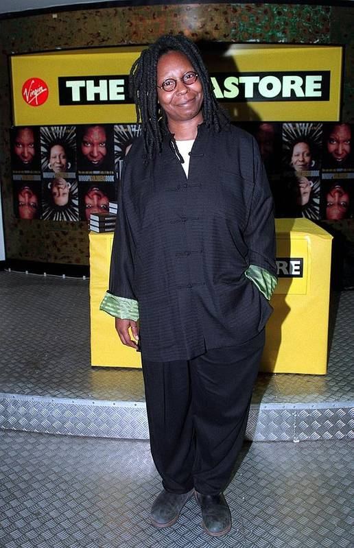 Jez C Self Art Print featuring the photograph Whoopi 3 by Jez C Self