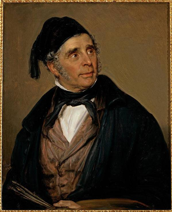 Portrait Art Print featuring the photograph Carnovali Giovanni Know As Piccio by Everett