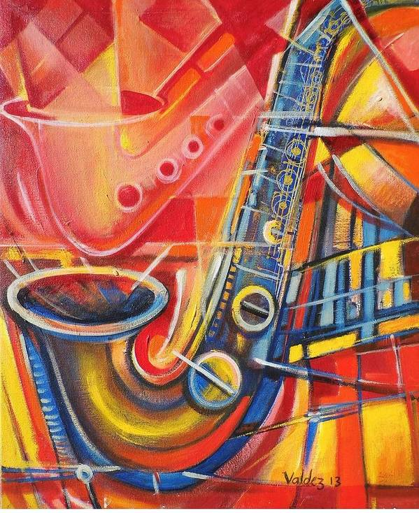 Love And Music Art Abstract