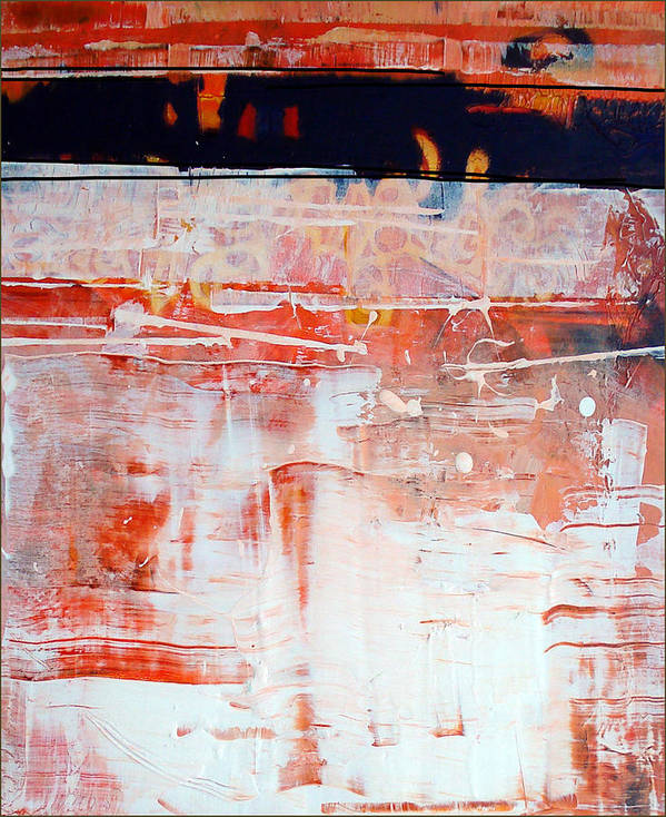 Abstract Art Print featuring the painting Preliminaries by Dale Witherow