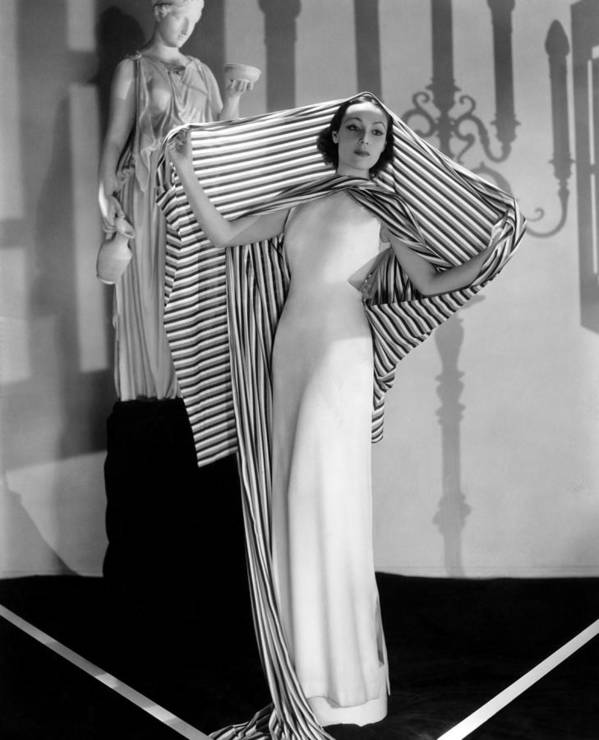 1930s Fashion Art Print featuring the photograph Dolores Del Rio, Ca. 1930s by Everett