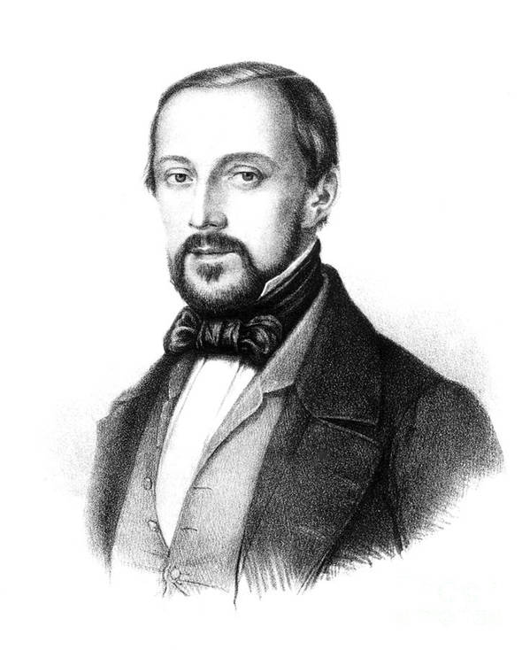 Science Art Print featuring the photograph Rudolph Virchow, German Polymath by Science Source