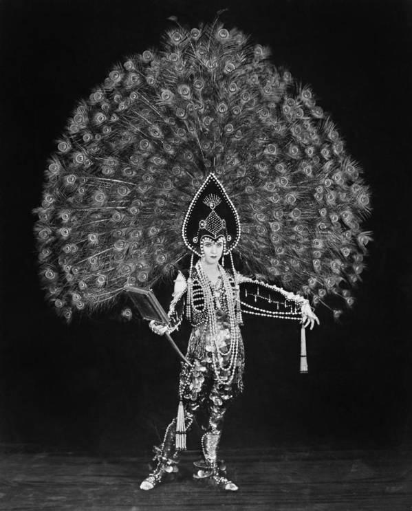 Silent Film Still Woman By Granger: Silent Film Still: Costume Art Print By Granger