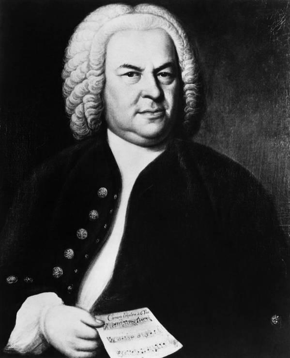 1700s Portrait Art Print featuring the photograph Johann Sebastian Bach 1685-1750, German by Everett