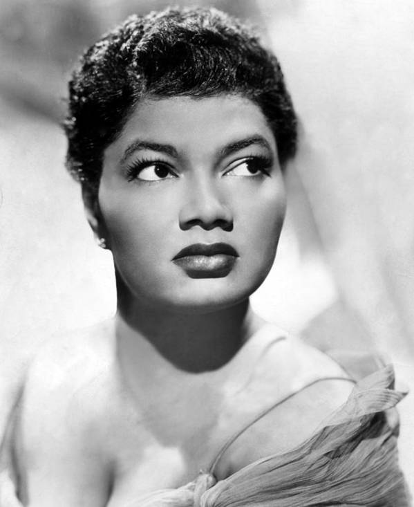 1950s Portraits Art Print featuring the photograph Pearl Bailey, Portrait Ca. 1952 by Everett