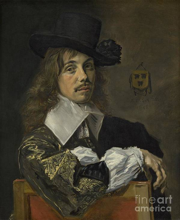 Art Print featuring the painting Willem Coymans by Frans Hals