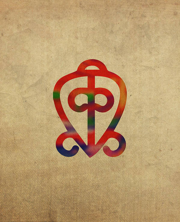 Adinkra Symbols Art Fine Art America