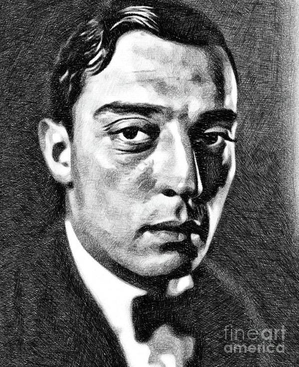 Buster Keaton Drawings