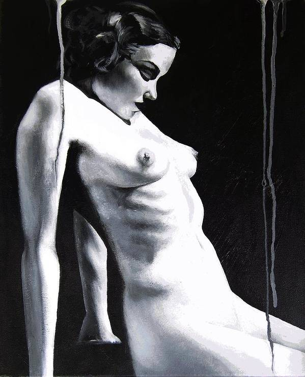 Art Print featuring the painting Classic Beauty by Melissa Fiorentino