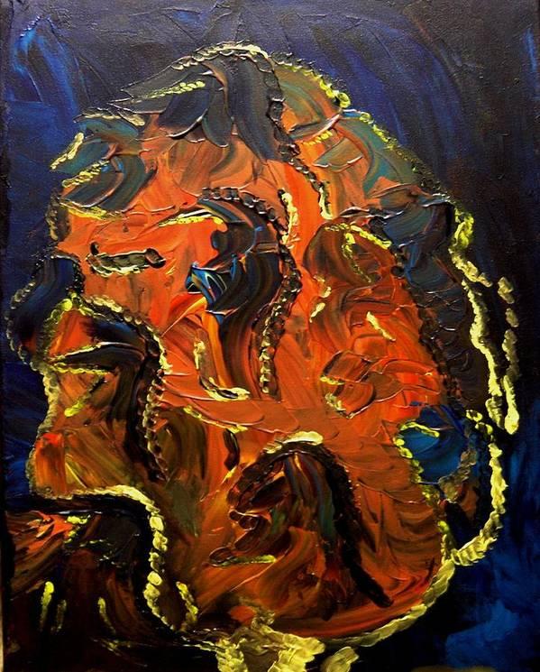 Change Art Print featuring the painting Metamorphosis by Karen L Christophersen