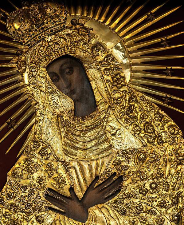 Poland Polish Virgin Mary Our Lady Black Madonna Vilnius Religious ...
