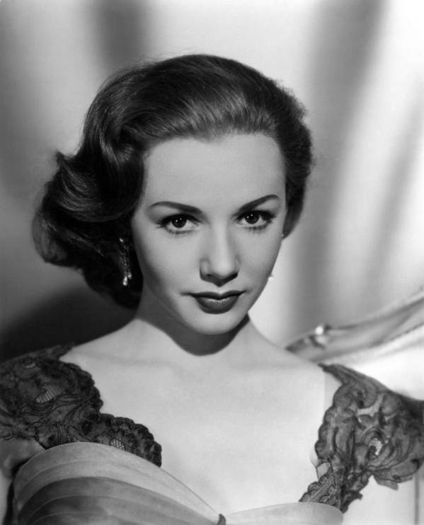 1950s Fashion Art Print featuring the photograph Piper Laurie, 1954 by Everett