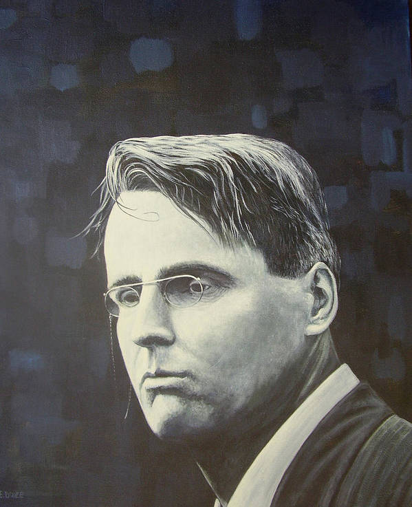 W.b. Yeats Art Print featuring the painting W.b. Yeats by Eamon Doyle