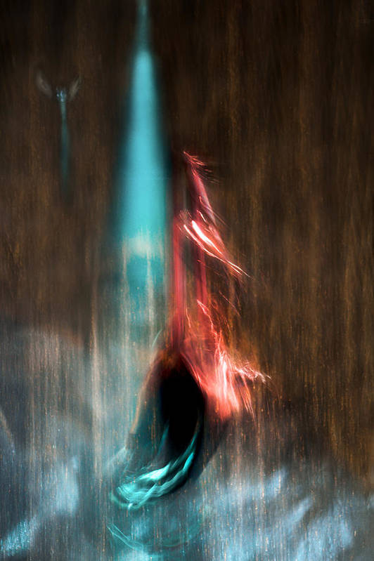 Abstract Art Print featuring the photograph Ascension by Linda McRae