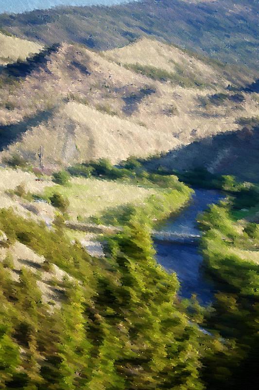 Landscape Art Print featuring the photograph Big Hole River Divide Mt by Kevin Bone
