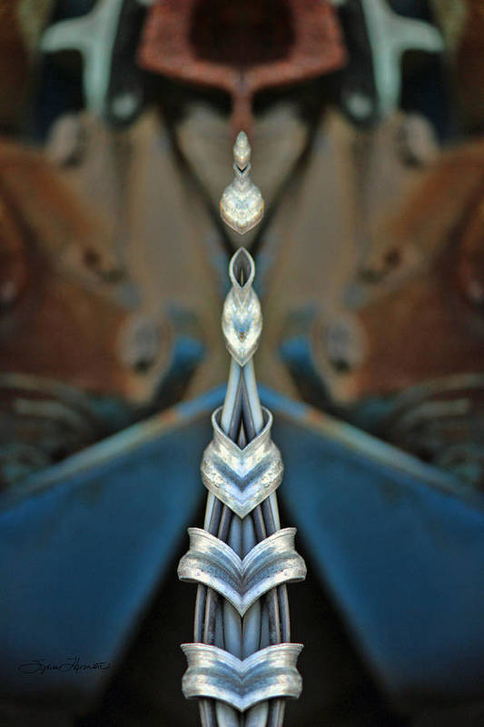 Kaleidoscope Art Print featuring the photograph Jewels by Sylvia Thornton