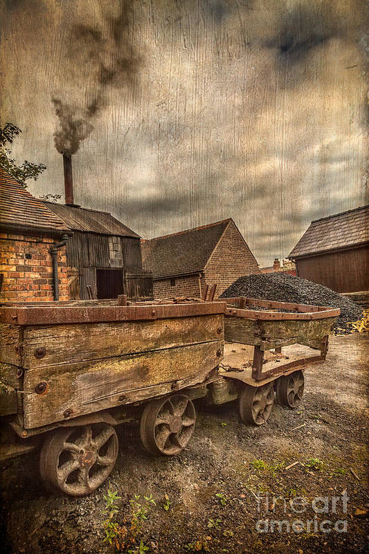 British Art Print featuring the photograph Victorian Colliery by Adrian Evans