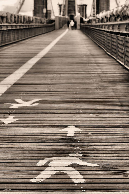 Walk This Way Art Print featuring the photograph Walk This Way by JC Findley