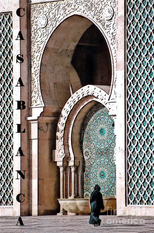 Casablanca Art Print featuring the photograph Casablanca Mosque by Linda Parker