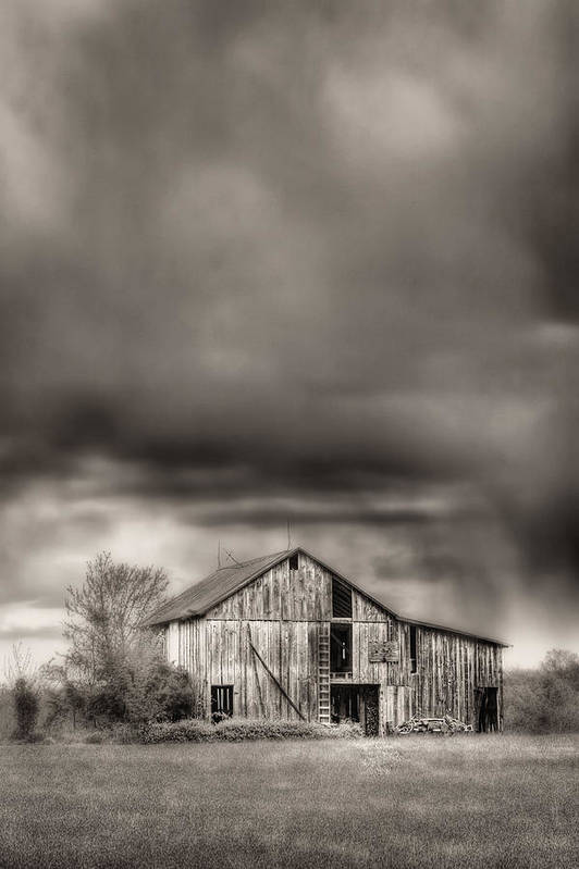 The Smell Of Rain Art Print featuring the photograph The Smell Of Rain by JC Findley