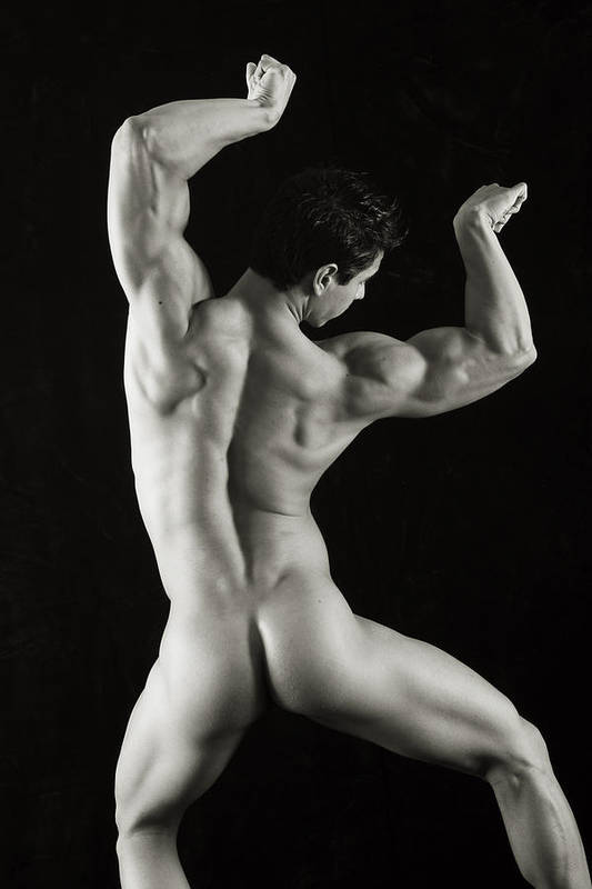 Male Nudes Art Print featuring the photograph Alan 1 by Thomas Mitchell