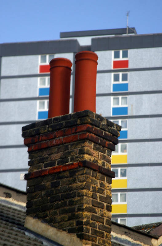 Jez C Self Art Print featuring the photograph Chimney High by Jez C Self