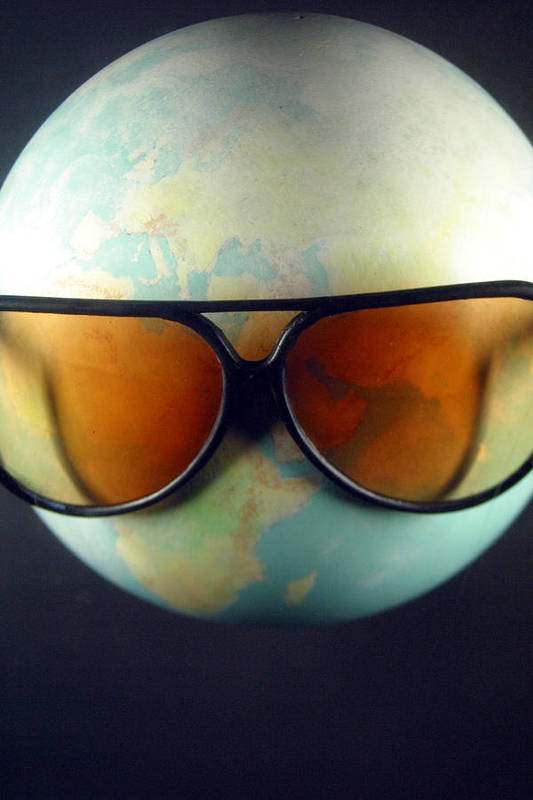 Jez C Self Art Print featuring the photograph Global Warming by Jez C Self