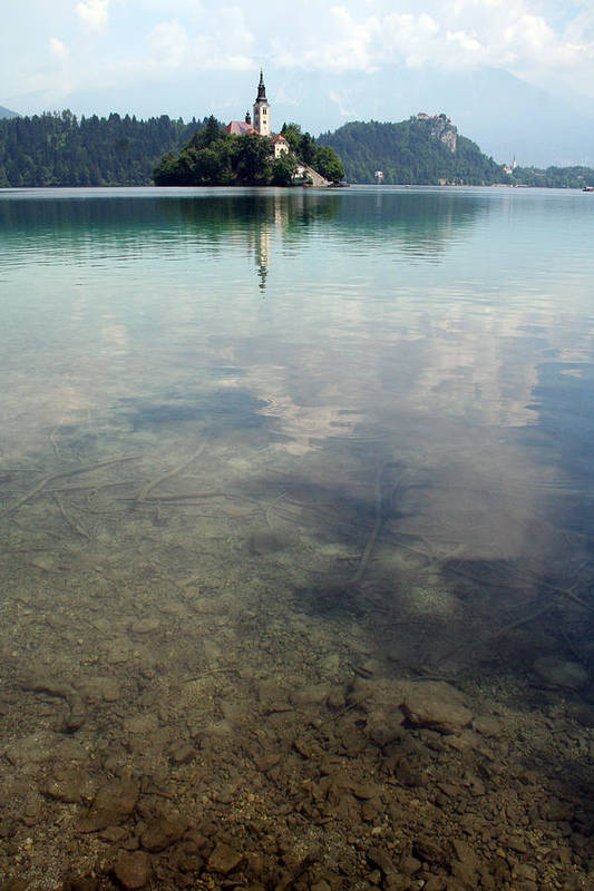 Lake Bled Art Print featuring the photograph Lake Bled by Nathaniel Dickert
