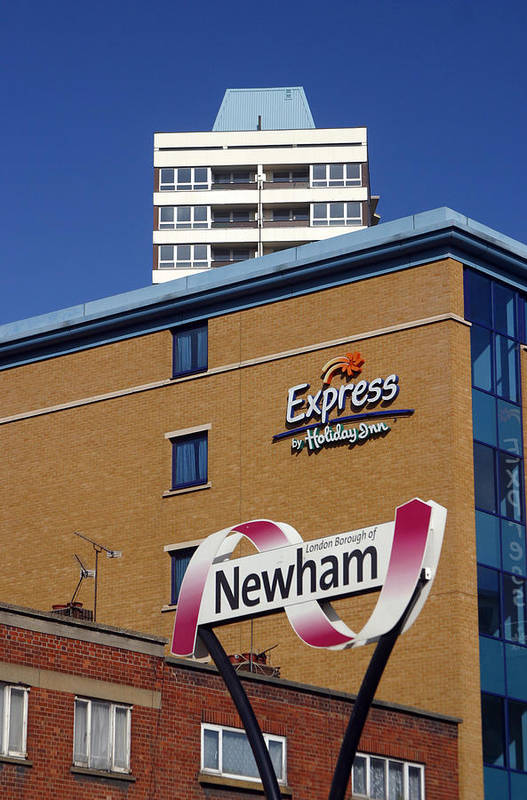 Jez C Self Art Print featuring the photograph Newham Express by Jez C Self