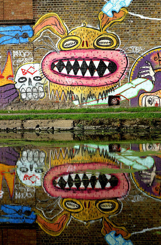 Jez C Self Art Print featuring the photograph Reflective Canal 9 by Jez C Self