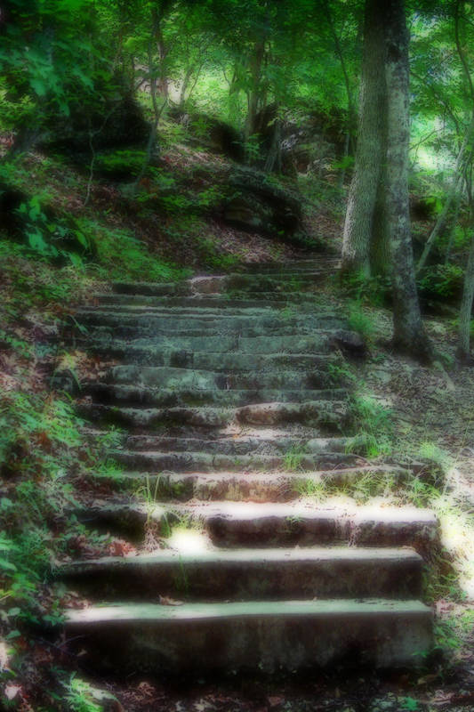 Stairs Art Print featuring the photograph Second Ethereality by Carl Perry