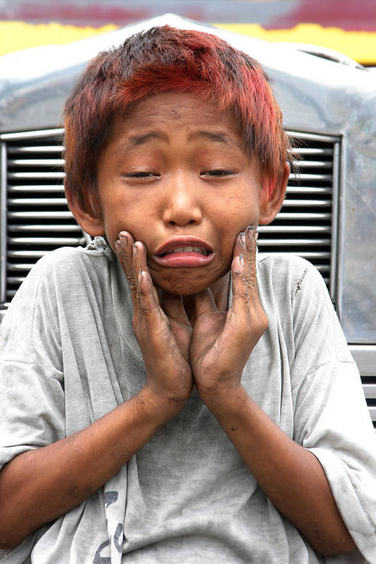 Photographer Art Print featuring the photograph Woe Is Me 2 by Jez C Self