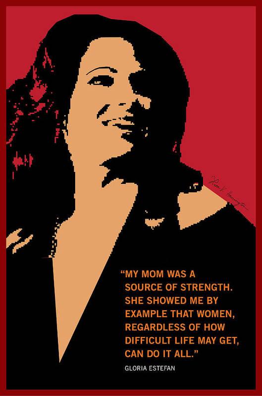 Gloria Estefan by Lisa Hanington