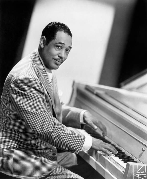 20th Century Art Print featuring the photograph Duke Ellington (1899-1974) by Granger