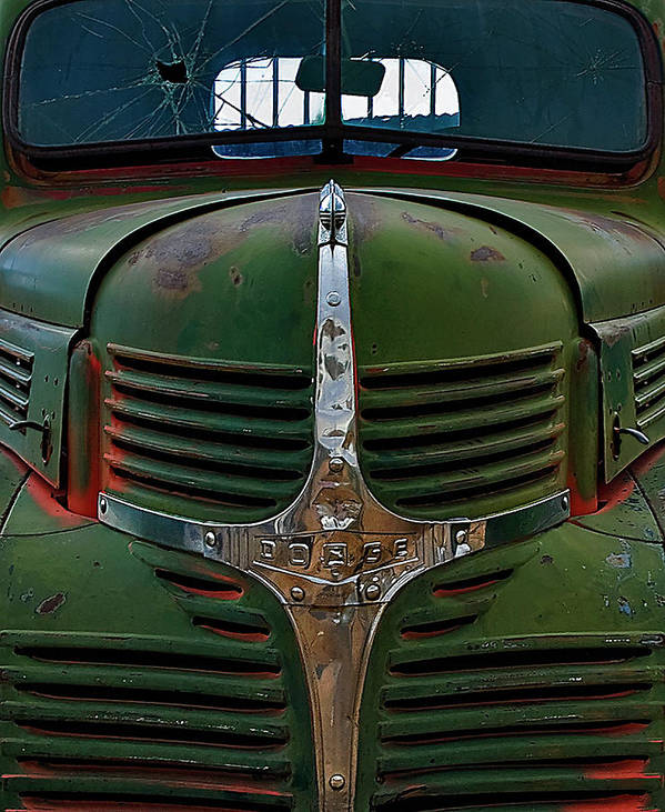 Truck Art Print featuring the photograph Dodge by Murray Bloom