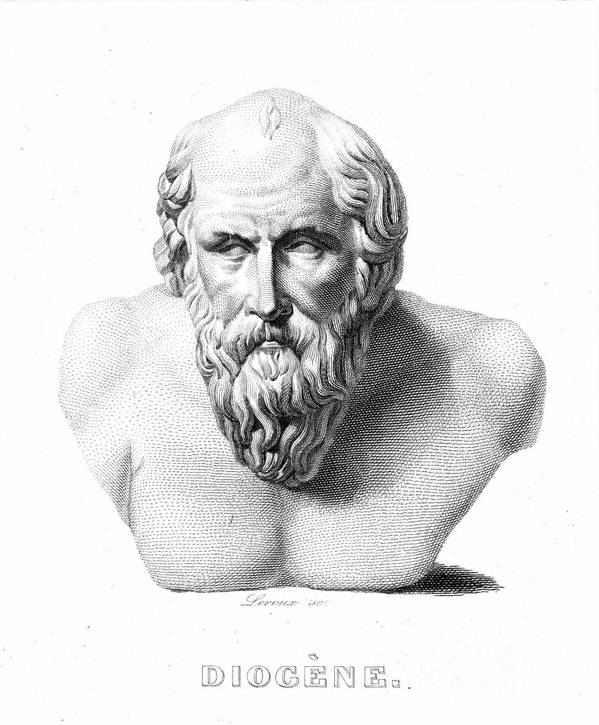 19th Century Art Print featuring the photograph Diogenes (d. C320 B.c.) by Granger