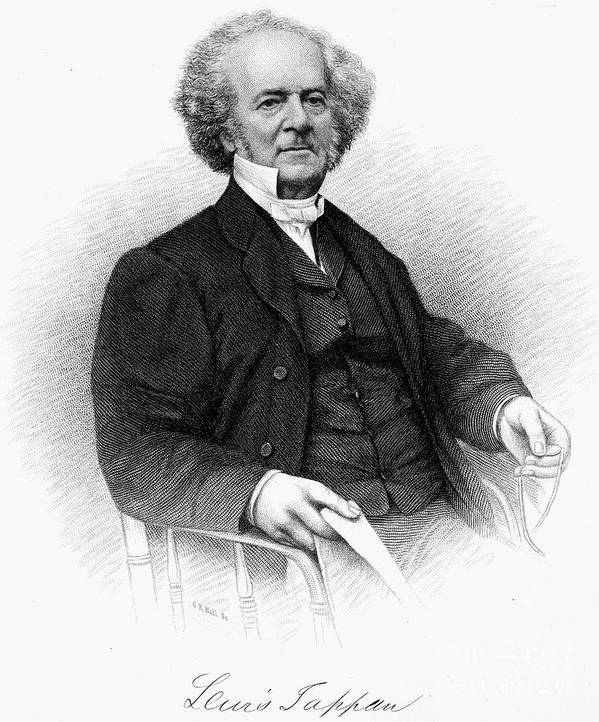 19th Century Art Print featuring the photograph Lewis Tappan (1788-1873) by Granger