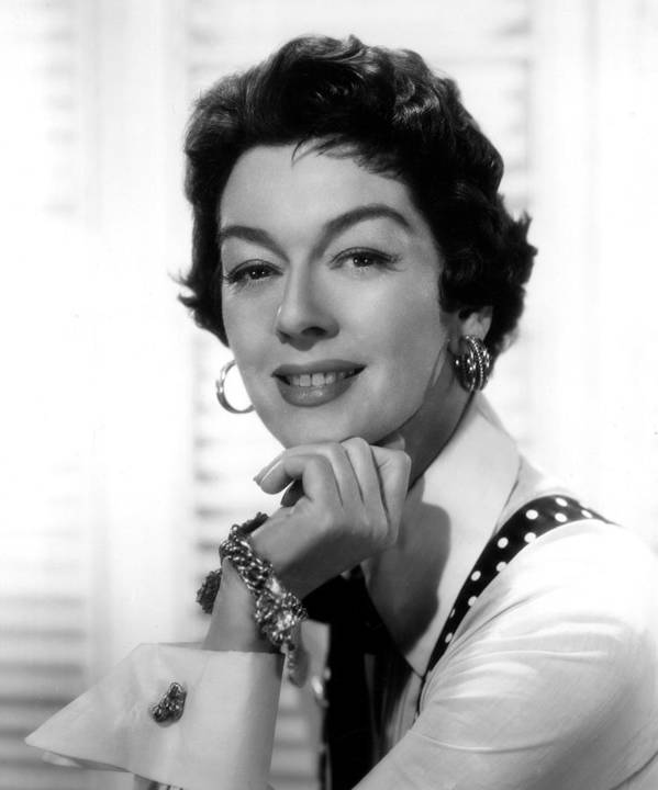 1950s Movies Art Print featuring the photograph The Girl Rush, Rosalind Russell, 1955 by Everett