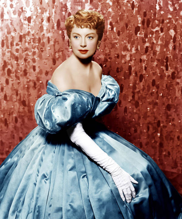 1950s Portraits Art Print featuring the photograph The King And I, Deborah Kerr, 1956 by Everett