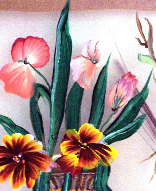 Flower Art Print featuring the print Untitled by Beverly Baxter